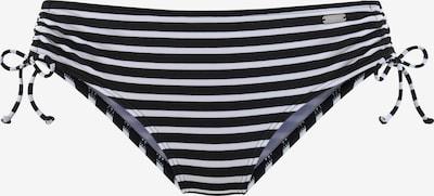 VENICE BEACH Bikinihose in schwarz / weiß, Produktansicht