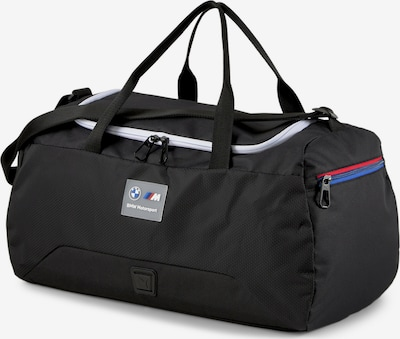PUMA Sporttas 'BMW Motorsport' in de kleur Blauw / Rood / Zwart / Wit, Productweergave