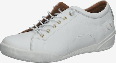COSMOS COMFORT Sportieve veterschoen in de kleur Wit, Productweergave