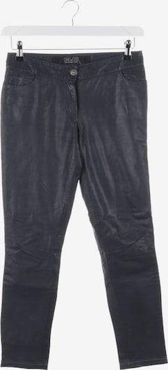 OAKWOOD Lederhose in XXS in dunkelblau, Produktansicht