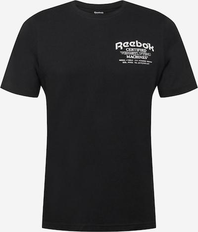 Reebok Sport T-Shirt fonctionnel en noir / blanc, Vue avec produit