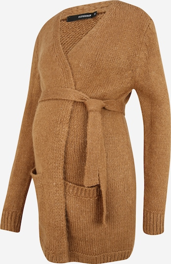 Supermom Knit Cardigan 'Toasted Coconut' in mottled beige, Item view