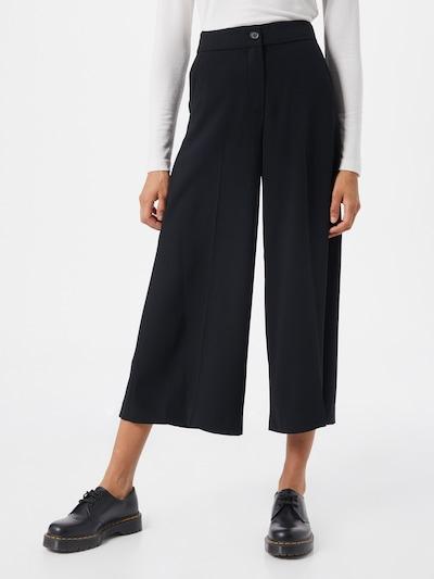 Riani Pantalon en noir, Vue avec modèle