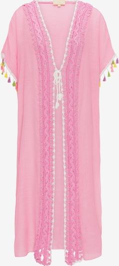 MYMO Kimono en mélange de couleurs / rose, Vue avec produit