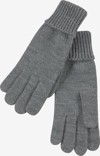 J. Jayz Fingerhandschuhe in graumeliert, Produktansicht