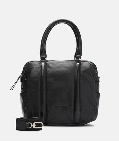 Liebeskind Berlin Bowling Bag in schwarz, Produktansicht
