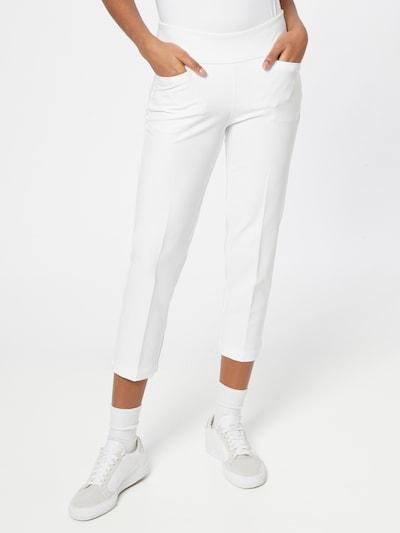 adidas Golf Sporthose in weiß: Frontalansicht