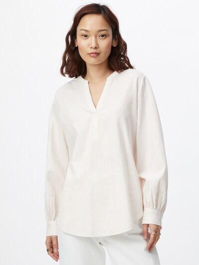 testszínű / fehér ESPRIT Blúz, Modell nézet