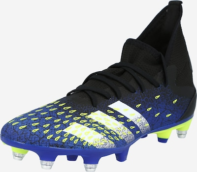ADIDAS PERFORMANCE Soccer shoe 'Predator Freak.3' in navy / neon yellow / black / white, Item view