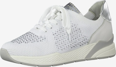 MARCO TOZZI Sneakers in Cream / Silver / White, Item view