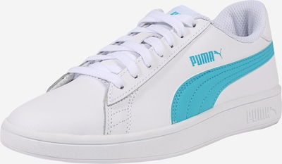 PUMA Sneaker 'Smash v2' in aqua / weiß, Produktansicht