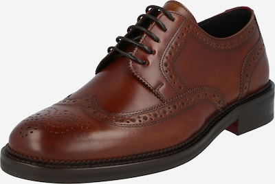 HUGO Šnurovacie topánky 'Luxity' - hnedá, Produkt