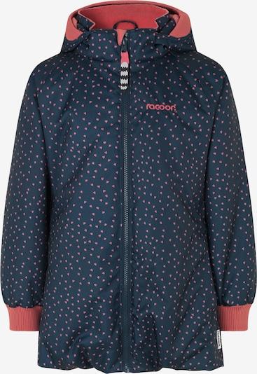 Racoon Outdoor Winterjacke 'Molly' in nachtblau / cranberry, Produktansicht