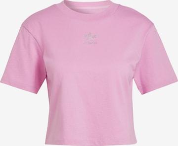 ADIDAS ORIGINALS Shirt '2000 Luxe' in Purple