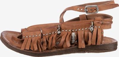 A.S.98 T-Bar Sandals in Cognac, Item view