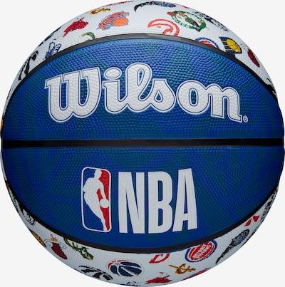 WILSON Basketball in blau / rot / weiß, Produktansicht
