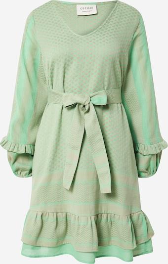 Cecilie Copenhagen Kleid 'Liv' in grün / oliv, Produktansicht