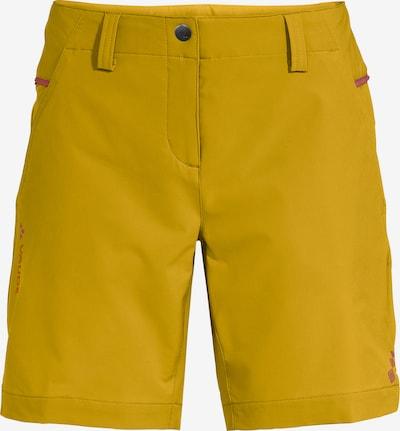 VAUDE Outdoor Pants 'Skomer III' in Yellow / Pink, Item view