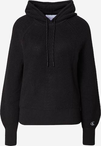 Calvin Klein Jeans Kampsun, värv must