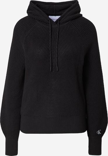 Calvin Klein Jeans Džemperis, krāsa - melns, Preces skats
