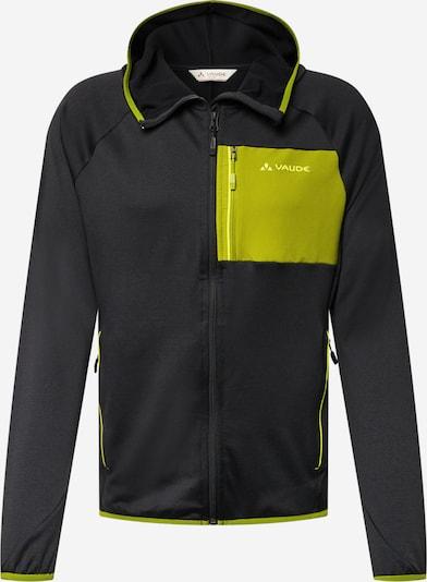 Jachetă  fleece funcțională 'Tekoa' VAUDE pe verde stuf / negru, Vizualizare produs