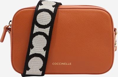 Coccinelle Torba preko ramena 'TEBE' u hrđavo smeđa / crna / bijela, Pregled proizvoda