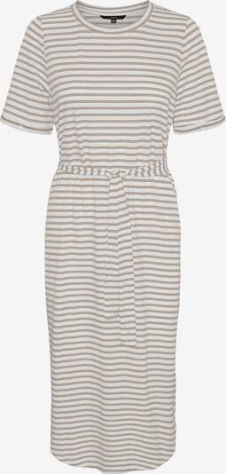Vero Moda Petite Kleid 'ALONA' in braun / weiß, Produktansicht