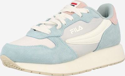 FILA Sneakers 'Retroque' in Light blue / Grey / Pink / White, Item view
