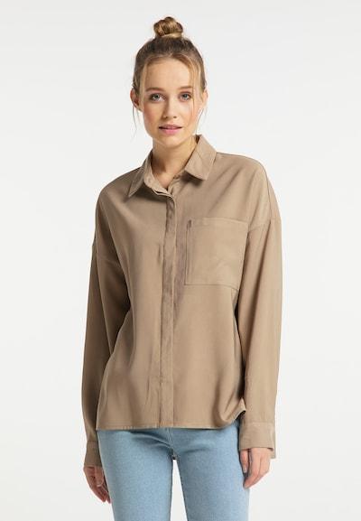 DreiMaster Vintage Bluse in ecru, Modelansicht
