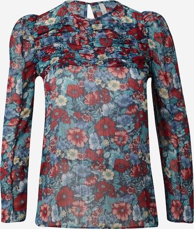 Pepe Jeans Bluza 'LOREN' | modra / golobje modra / pastelno rumena / rdeča barva, Prikaz izdelka