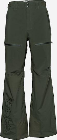 OAKLEY Spodnie outdoor w kolorze ciemnozielony / czarnym, Podgląd produktu