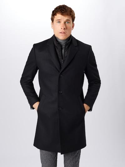Tiger of Sweden Manteau mi-saison 'NETLEY' en noir, Vue avec modèle