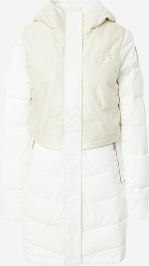 ICEPEAK Manteau outdoor 'Altenau' en blanc / blanc naturel, Vue avec produit