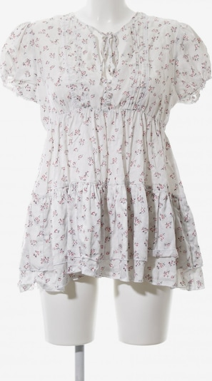 byTiMo Kurzarm-Bluse in S in weiß, Produktansicht