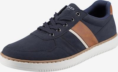 RIEKER Sneaker in nachtblau / cognac / cappuccino, Produktansicht