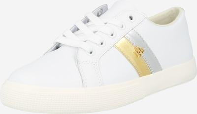 Sneaker low 'JANSON II' Lauren Ralph Lauren pe auriu / argintiu / alb, Vizualizare produs