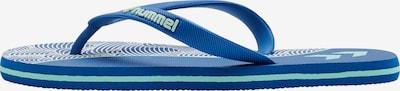 Hummel Zehentrenner in blau / pastellgrün, Produktansicht