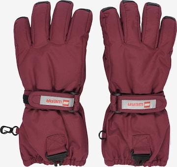 LEGO WEAR Handschuhe in Rot