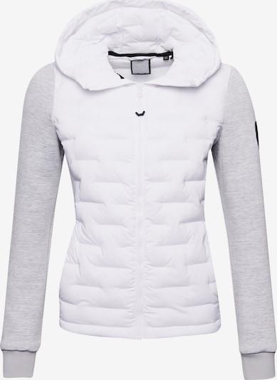Superdry Jacke in hellgrau / weiß, Produktansicht