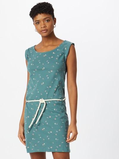 Ragwear Šaty 'Tamy' - nefritová / pastelově oranžová / bílá, Model/ka