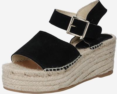 JUTELAUNE Sandale in schwarz, Produktansicht