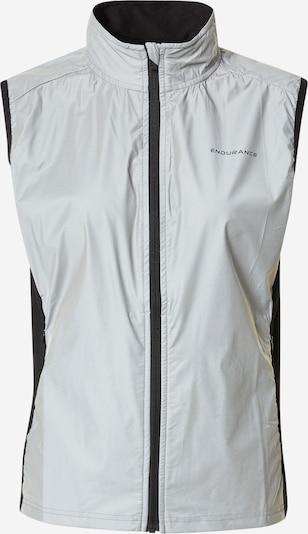 ENDURANCE Sporta veste 'Rumey', krāsa - pelēks / melns, Preces skats