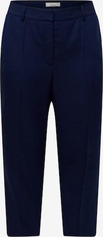 Guido Maria Kretschmer Curvy Collection - Pantalón de pinzas 'Maria' en azul