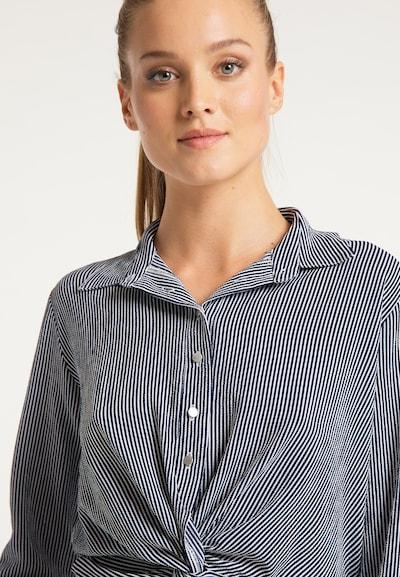 DreiMaster Maritim Bluse 'Maritim' in blau / weiß, Produktansicht