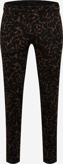 DRYKORN Pantalon chino 'SIGHT' en marron / noir, Vue avec produit