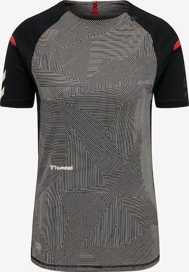 Hummel Performance Shirt 'hmlPRO XK PRE GAME' in Dark grey / Red / Black / White, Item view