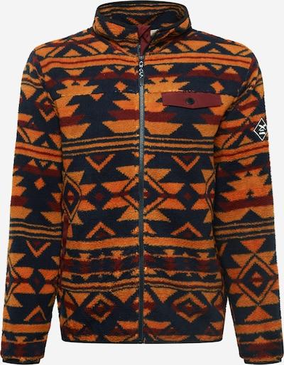 Iriedaily Between-Season Jacket 'Insaneia' in Navy / Brown / Orange, Item view
