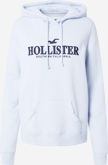 HOLLISTER Sweatshirt in navy / hellblau, Produktansicht