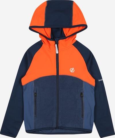 DARE2B Veste outdoor 'Hasty' en bleu foncé / orange fluo / blanc, Vue avec produit