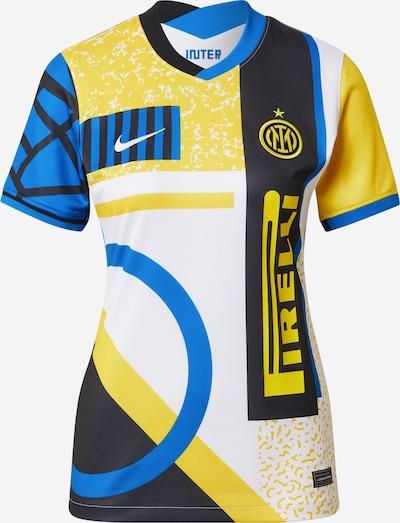 Triko 'INTER' iš NIKE, spalva – mėlyna / nakties mėlyna / geltona / balta, Prekių apžvalga